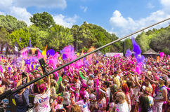 The Color Run Bucharest Royalty Free Stock Photo