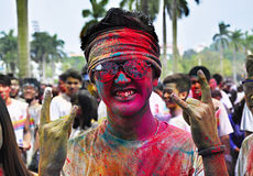 The Color Run china Royalty Free Stock Photography