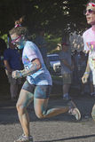 Color Run Competition Stock Photo