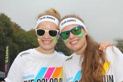 Color Run Hamburg 2014 Stock Photography