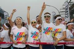 Color Run Hamburg 2014 Stock Images