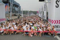 Color Run Hamburg 2014 Royalty Free Stock Photography