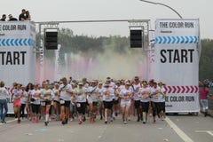 Color Run Hamburg 2014 Royalty Free Stock Images