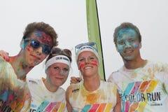 Color Run Hamburg 2014 Royalty Free Stock Photo