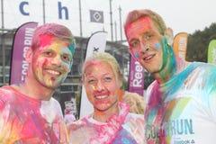 Color Run Hamburg 2014 Royalty Free Stock Image
