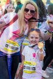 The color run hero tour 2018 Royalty Free Stock Images