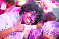 The Color Run - Italy Royalty Free Stock Photography