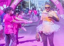 Color Run Las Vegas Stock Photography