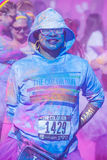 Color Run Las Vegas Stock Photo