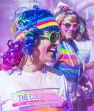 Color Run Las Vegas Stock Images