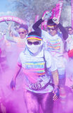 Color Run Las Vegas Stock Image