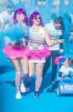Color Run Las Vegas Royalty Free Stock Photography