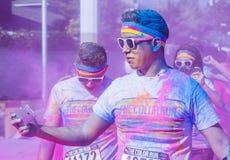 Color Run Las Vegas Royalty Free Stock Photos