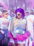 Color Run Las Vegas Stock Photos
