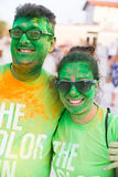 Color run, lido di camaiore ,Italy Stock Photography