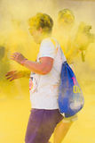 Color run, lido di camaiore ,Italy Royalty Free Stock Image