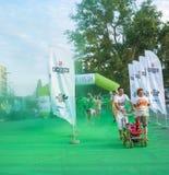 The Color run - Mamaia 2015, Romania Royalty Free Stock Image