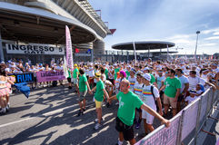 The Color Run 2013 in Milan, Italy Royalty Free Stock Photos