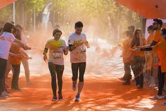 Color run Stock Images
