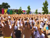 The Color Run Tour 2015 Royalty Free Stock Images