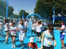 The Color Run Tour 2015 Stock Photos