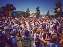 The Color Run Tour 2015 Royalty Free Stock Photography