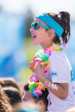 The Color Run Tropicolor World Tour 2016 Royalty Free Stock Images