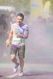 The Color Run Tropicolor World Tour 2016 Royalty Free Stock Photos