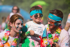 The Color Run Tropicolor World Tour 2016 Royalty Free Stock Image
