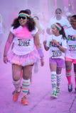 The Color Run Ventura Stock Photos