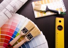 Color's sample Royalty Free Stock Photo