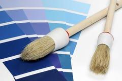 Color Sample Charts Royalty Free Stock Photos