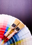 Color samples  Royalty Free Stock Photography