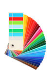 Color samples, bribe colored, rainbow Royalty Free Stock Photo