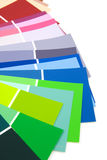 Color samples for painting Stock Photo