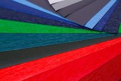 Color samples Stock Photos