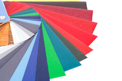 Color samples Stock Image