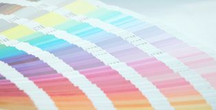 Color scale Royalty Free Stock Images