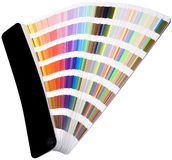 Color scale cutout Stock Photo