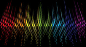 Color scale equalizer Stock Image