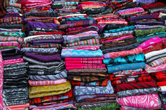 Color scarf Royalty Free Stock Image