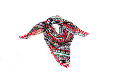 Color scarf Royalty Free Stock Photography
