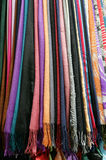 Color scarfs Stock Photography