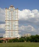 Color scarlatto complesso residenziale delle vele Fotografia Stock Libera da Diritti