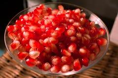 Color scarlatto del melograno di gusto delle vitamine Immagini Stock