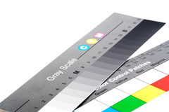 Color scheme. Color selector control to print on a white background royalty free stock images