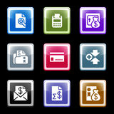 Color screen set 14 Stock Images
