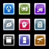Color screen set 18. Vector icons set for internet, website, guides
