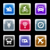 Color screen set 20. Vector icons set for internet, website, guides Royalty Free Stock Photography