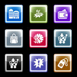 Color screen set 26 Royalty Free Stock Image